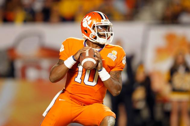 Clemson vs Auburn: Tajh Boyd Must Shine to Put Orange Bowl Blunder Behind Tigers