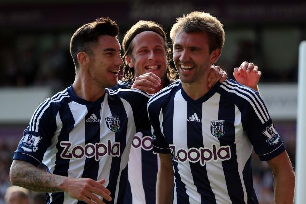English Premier League: West Brom Continues Hot Start with Win over Everton
