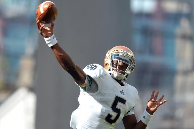 Notre Dame vs. Navy: No QB Controversy Yet, but Everett Golson Showed Something
