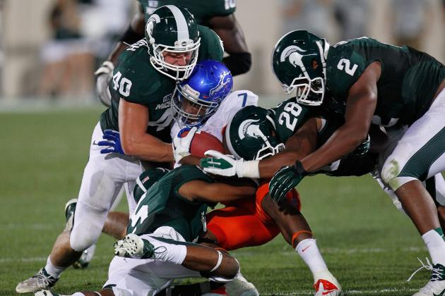 Boise State vs. Michigan State: Spartan Defense Proves to Be Champion Caliber
