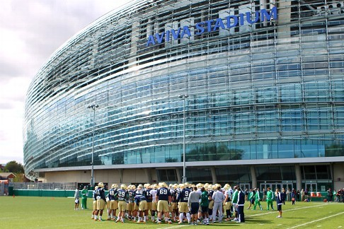 Feel Like Dancin': Notre Dame Kicks off the 2012 Season on the Right Foot