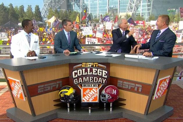 College GameDay 2012: Lee Corso Picks Alabama
