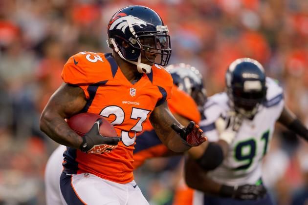 Top 75 RB's: 2012 NFL Fantasy Football Running Back Rankings (Updated 9/1)