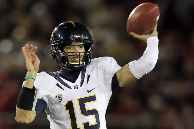 California QB Zach  Maynard Does Not Start Opener...