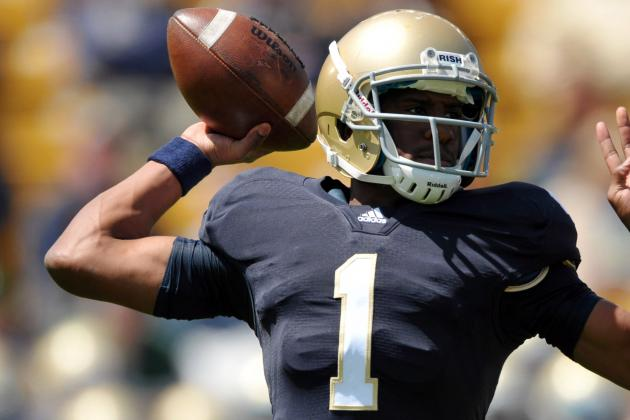 Notre Dame vs Navy: Why QB Golson's Performance Shows He'll Be a Star
