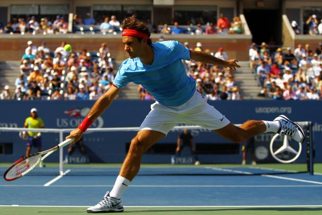 2012 U.S. Open: Roger Federer Defeats Fernando Verdasco to Advance