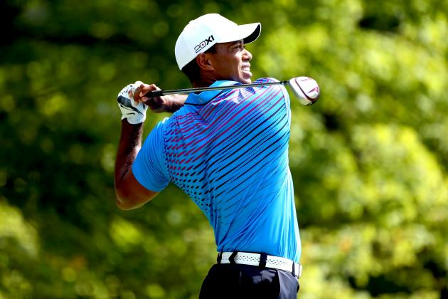 Tiger Woods at Deutsche Bank 2012 Tracker: Day 2 Highlights, Updates and More