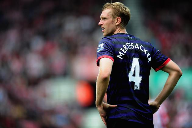 Arsene Wenger Faces Dilemma Thanks to Per Mertesacker's Improved Arsenal Form