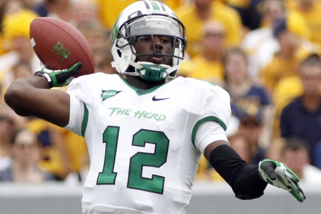 How Marshall Thundering Herd's Loss to WVU Will Help MU Win Conference USA