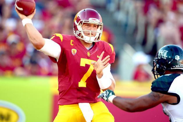 Hawaii at No. 1 USC: Live Score, Analysis and Results