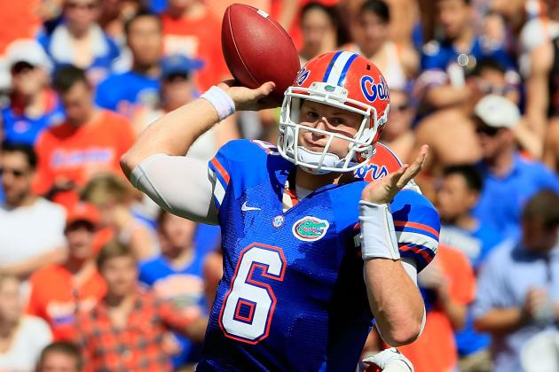 Florida Football: Did Florida's Win over Bowling Green Solve the QB Issue?