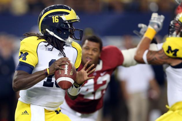 Alabama vs. Michigan: Wolverines' Loss to Crimson Tide Proves They Aren't Elite