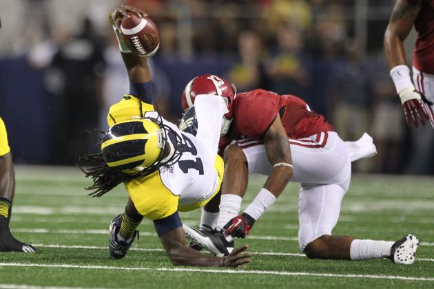 Michigan Football: Why Blowout Loss to Alabama Shows 2011 Was a Fluke