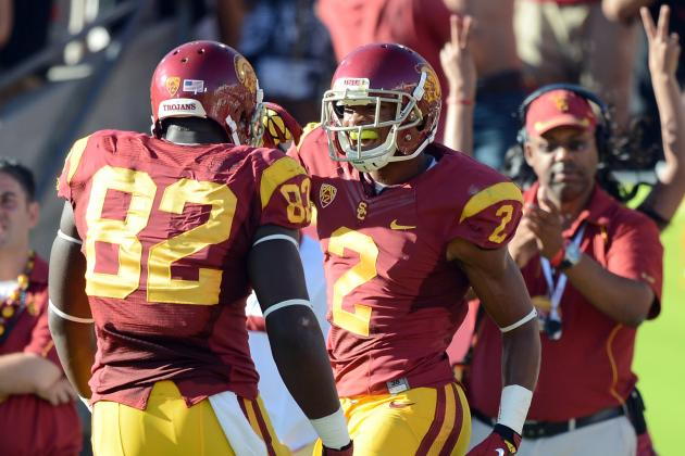 USC Football: Healthy Looking Robert Woods Should Strike Fear in Every Team