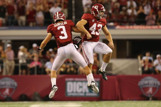 Alabama Crimson Tide Prove They Are Still College Football's Team to Beat