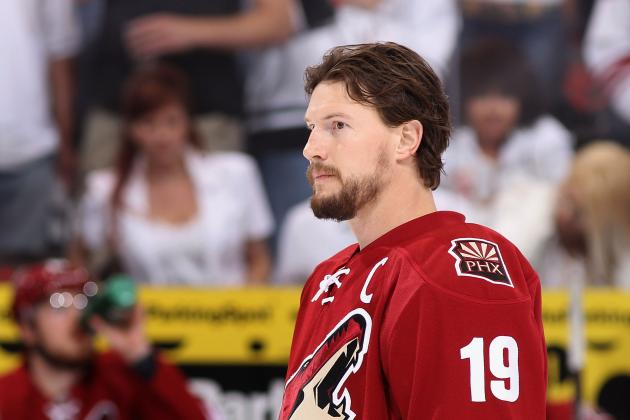 New York Rangers Among Teams Prepared to Offer Shane Doan 4-Year Contract