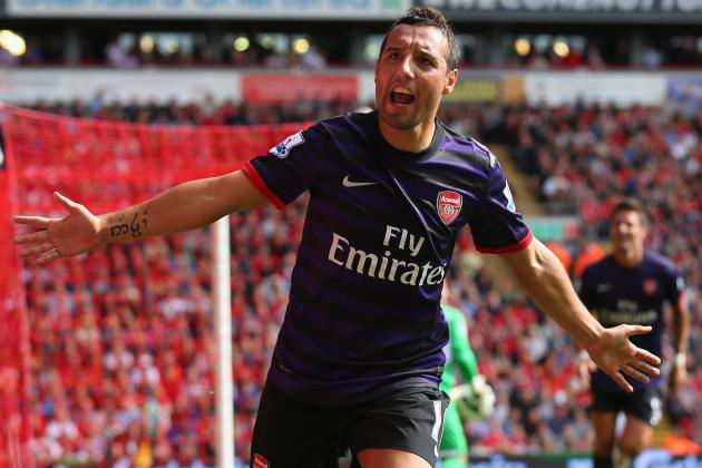 Cazorla, Diaby and Arteta Sparkled as Arsenal Won Midfield War Against Liverpool