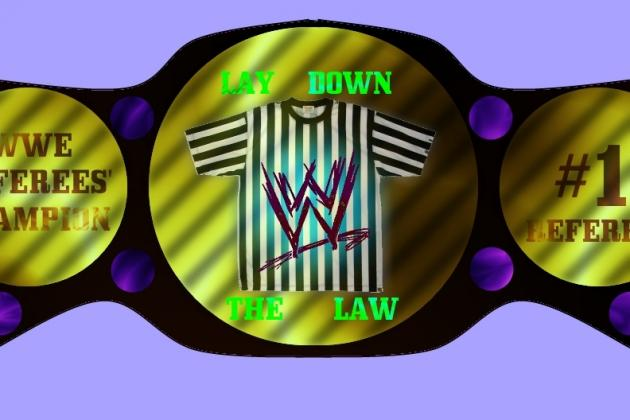 WWE Opinion: Should There Be a WWE Referees' Championship?