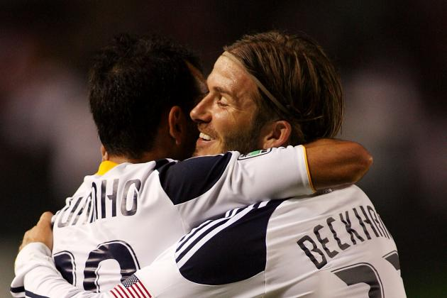 Beckham and Juninho Lift LA Galaxy to 2-0 Win over Vancouver Whitecaps