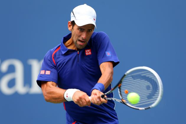 Novak Djokovic Defeats Julien Benneteau to Advance at 2012 US Open