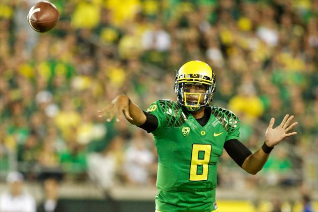 Oregon Ducks Football: How Marcus Mariota Silenced Doubts in Opener