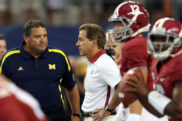 2012 College Football Rankings and Polls: Alabama, USC, LSU, Oregon Rule Week 1