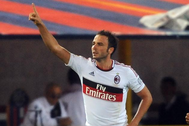 Asked to Replace Zlatan Ibrahimovic, Giampaolo Pazzini Shines for AC Milan