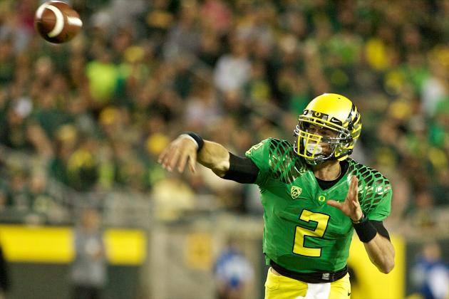 College Football Rankings 2012: Projecting the Top Five Teams After Crazy Week