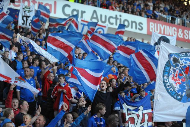 Rangers Attendance Numbers Outshine Scottish Premier League Once Again