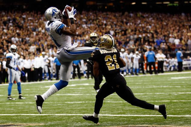Detroit Lions WR Calvin Johnson: 2012 Fantasy Football Profile