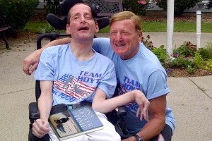 Rick Hoyt's 'One Letter at a Time' Makes a Difference to Many