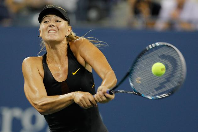 2012 US Open: Sharapova Gets Well-Timed Rain Delay Against Petrova