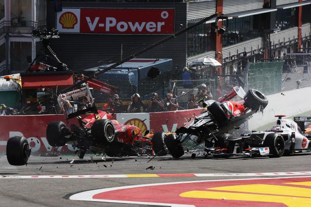 Formula 1 Belgian Grand Prix: Romain Grosjean's Ban Is Both Right and Wrong
