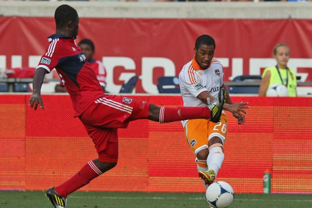 Patrick Nyarko's Quick Goal Helps Chicago Fire Race Past Houston Dynamo 3-1