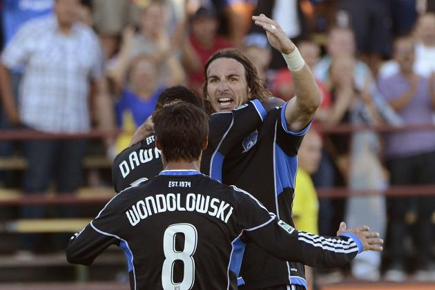 San Jose Earthquakes Break Single-Season Goals Record in 4-0 Win over Chivas USA