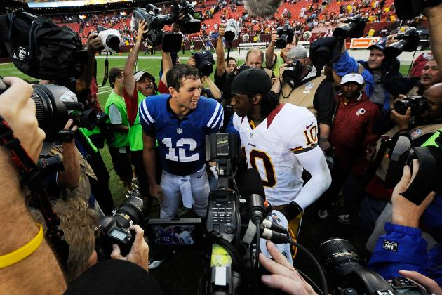 Fantasy Football Debate: Andrew Luck vs. Robert Griffin III