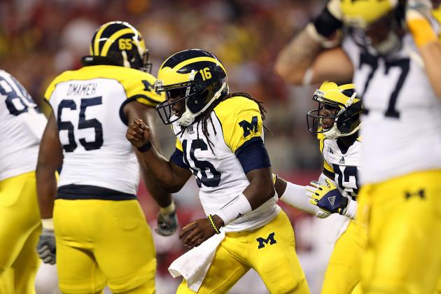 Michigan Wolverines Will Win Big Ten, Despite Ugly Loss to Alabama Crimson Tide