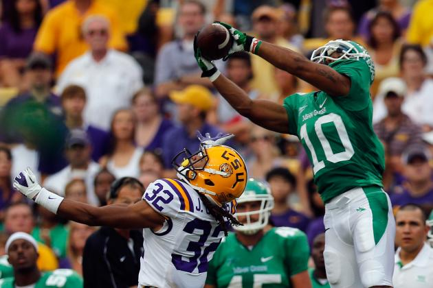 LSU Football: North Texas Exposes Problems in Secondary, Gameplan