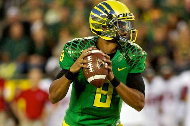 College Football Week 1 Recap: Matt Barkley, Geno Smith and Oregon Uniforms
