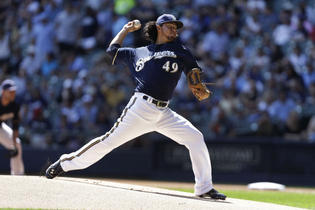 Yovani Gallardo Climbs the Home Run Ladder... for Pitchers
