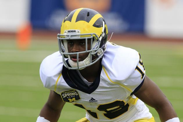 Michigan Cornerback Blake Countess Done for Year with Knee Injury