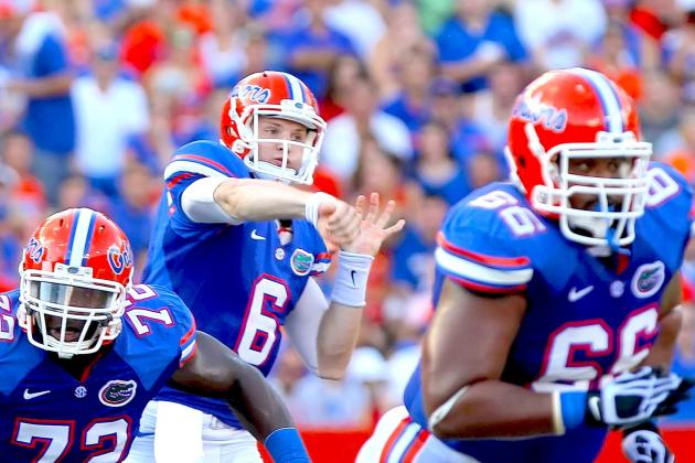 Florida Gators Football: Will Muschamp Names Jeff Driskel Starting QB