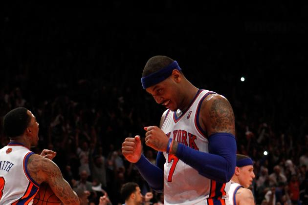 New York Knicks: Carmelo Anthony Wants Championship in the Concrete Jungle
