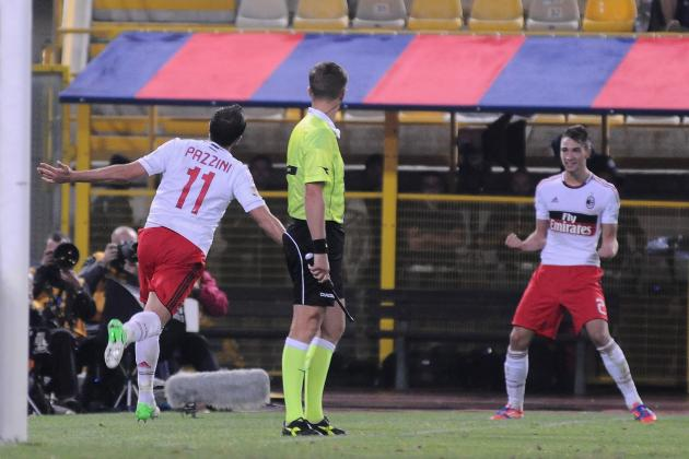 Bologna 1-3 Milan: Giampaulo Pazzini Begins to Repay His Transfer Fee