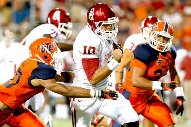 Oklahoma vs UTEP: Overrated Sooners in for Disastrous 2012 Following Opening Dud