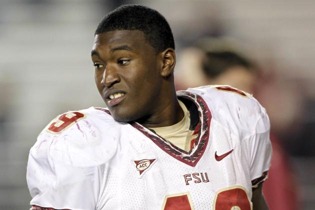 Florida State DE Brandon Jenkins Will Reportedly Miss Season with Foot Injury