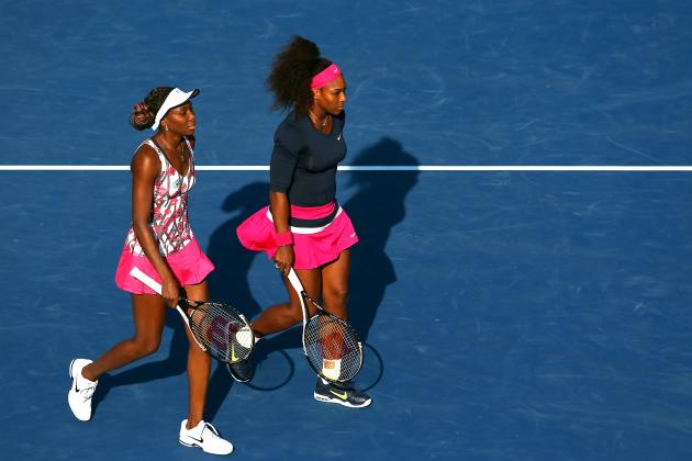 Serena and Venus Williams Eliminated from Doubles Play at US Open