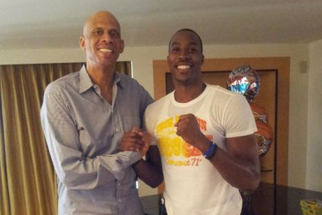 Dwight 'In Tears' Meeting Kareem