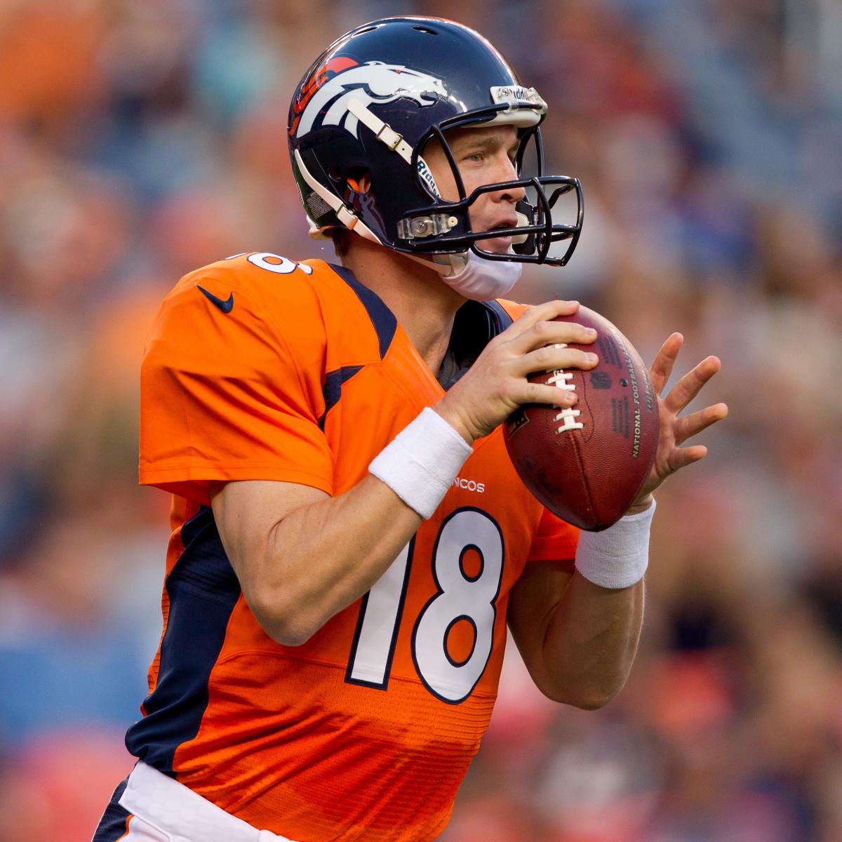 Denver News Sunday: Sunday Night Football: Denver Broncos Vs. Pittsburgh