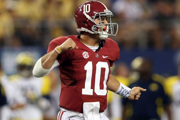 SEC Football Power Rankings: Alabama Is Still the Team to Beat After Week 1